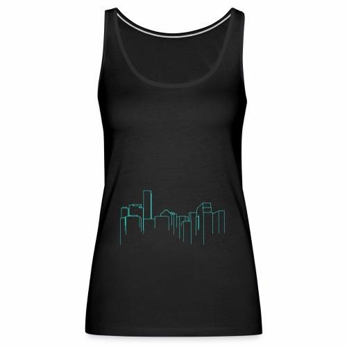 Cityscape - Women's Premium Tank Top