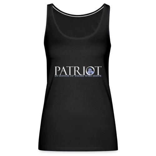 PATRIOT-SAM-USA-LOGO-REVERSE - Women's Premium Tank Top