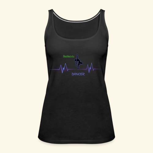 heartbeatdancer1 - Women's Premium Tank Top