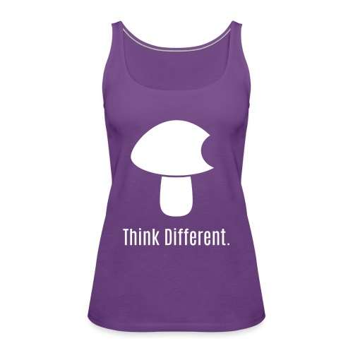 Think Different. - Women's Premium Tank Top