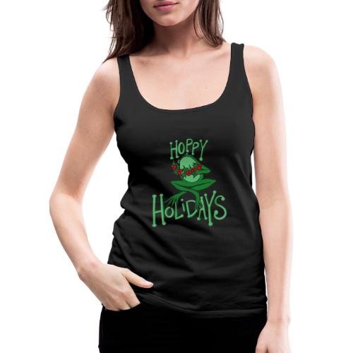 Hoppy Holidays - Women's Premium Tank Top