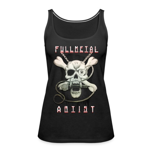 Heavy Metal FMA Skull - Women's Premium Tank Top