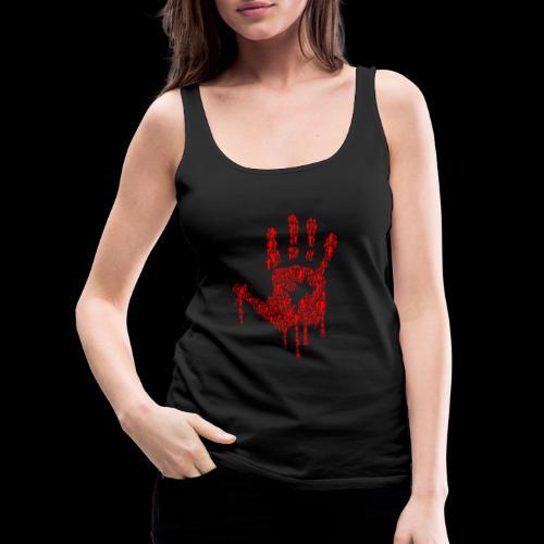 The Haunted Hand Of Zombies - Women's Premium Tank Top