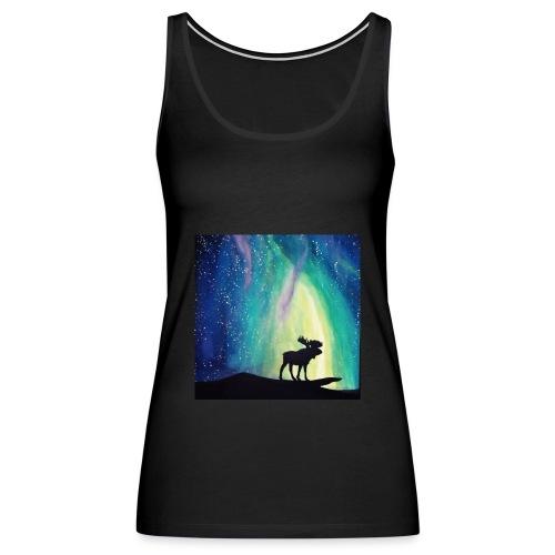 Night Moose - Women's Premium Tank Top