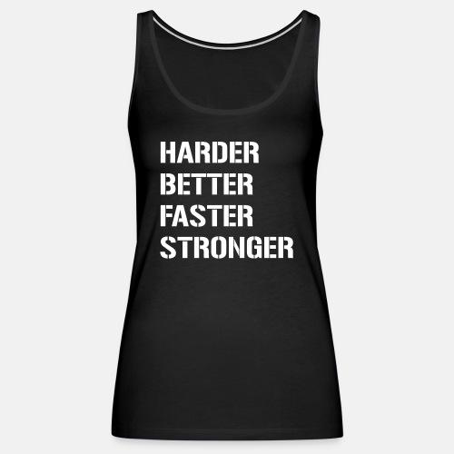 Harder better faster stronger ats