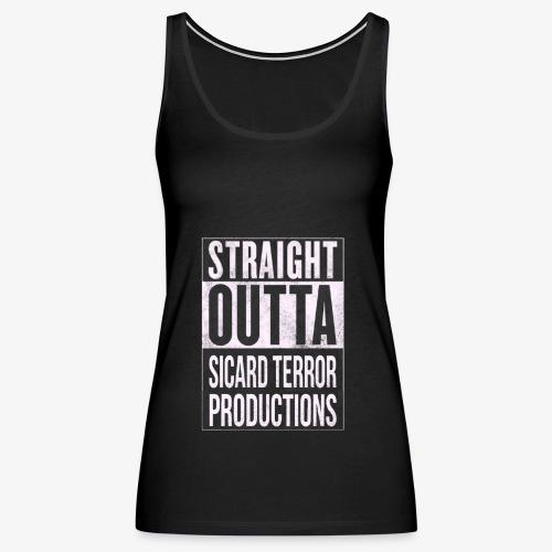 Strait Out Of Sicard Terror Productions - Women's Premium Tank Top