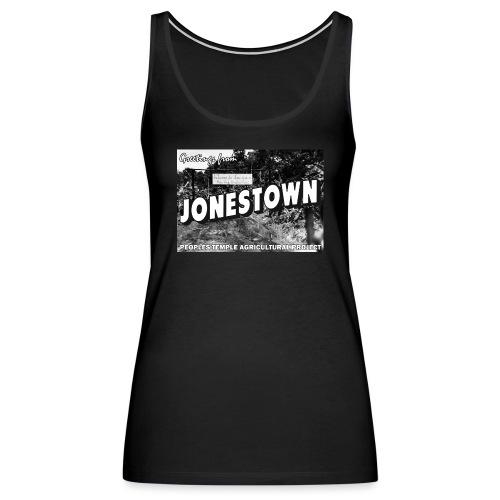 Jonestown Postcard - Women's Premium Tank Top