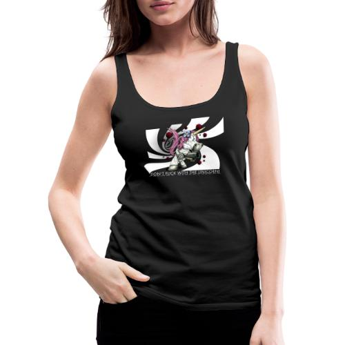 don't fuck with the unicorn - Women's Premium Tank Top
