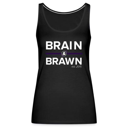 t shirt print dark png - Women's Premium Tank Top