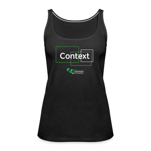 Context for the Education Shift - Women's Premium Tank Top