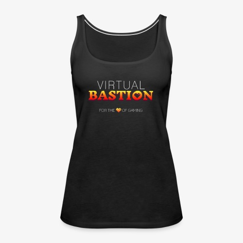 Virtual Bastion: For the Love of Gaming - Women's Premium Tank Top