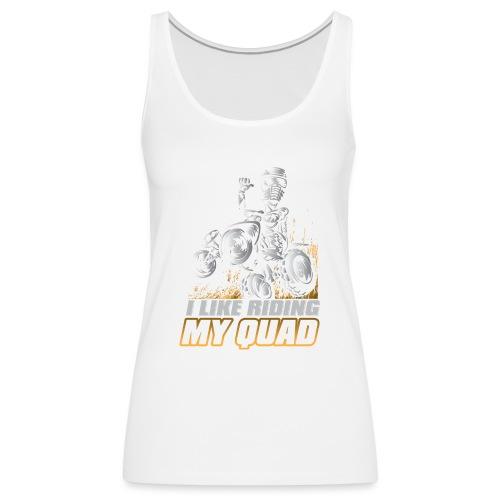 ATV Quad Like Stunt Rider - Women's Premium Tank Top