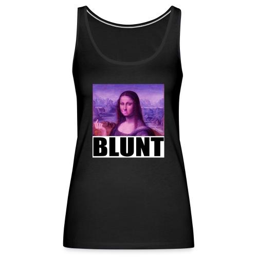 BLUNT Mona Lisa - Women's Premium Tank Top