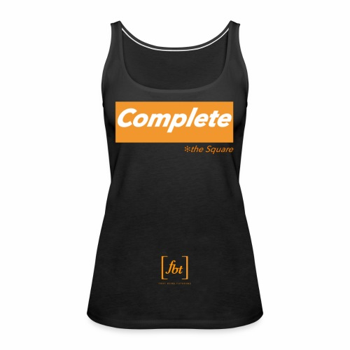 Complete the Square [fbt] - Women's Premium Tank Top