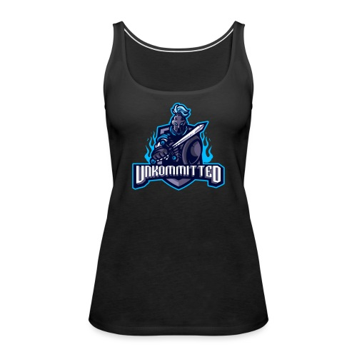 Unkommitted Text Logo - Women's Premium Tank Top