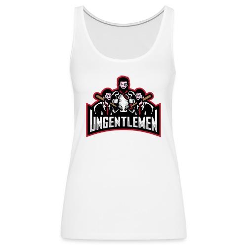Ungentlemen Text Logo - Women's Premium Tank Top