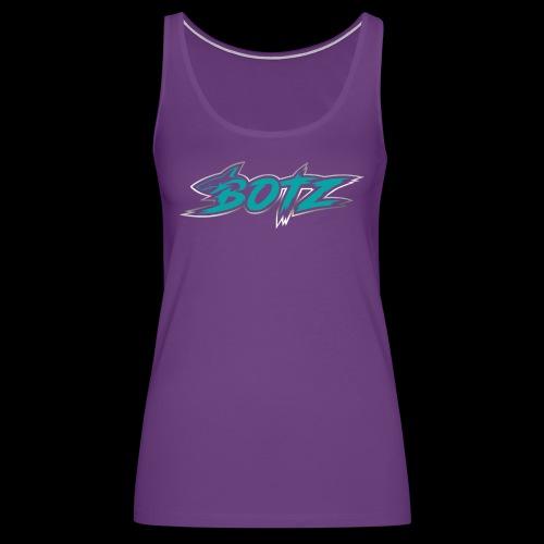 BOTZ Teal Logo - Women's Premium Tank Top