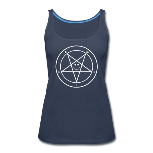 Smile Pentagram - Women's Premium Tank Top