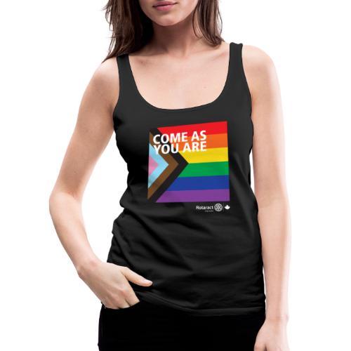 Come As You Are | PRIDE 2021 - Women's Premium Tank Top