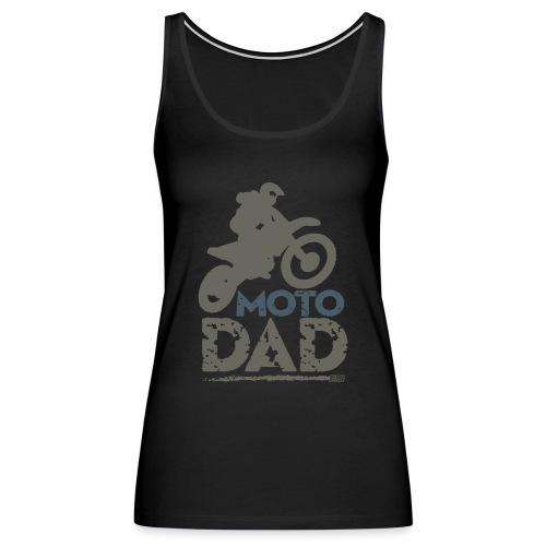 Dirt Bike Dad - Women's Premium Tank Top