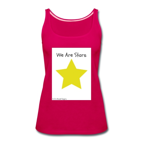 Hi I'm Ronald Seegers Collection-We Are Stars - Women's Premium Tank Top
