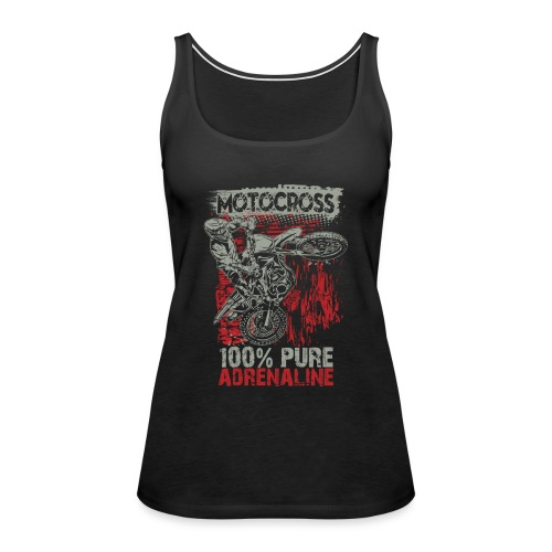 Motocross Pure Adrenaline - Women's Premium Tank Top