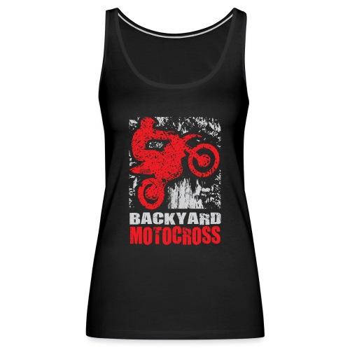 Backyard Motocross Honda - Women's Premium Tank Top
