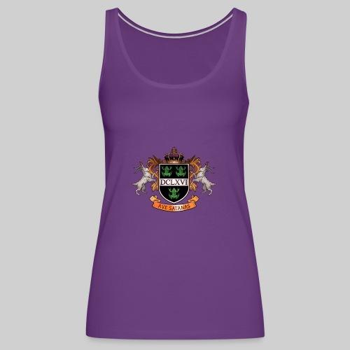 Satanic Heraldry - Coat of Arms - Women's Premium Tank Top