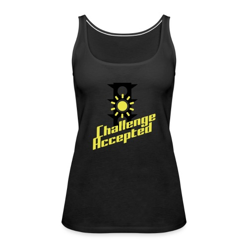 Challenge Accepted - Women's Premium Tank Top