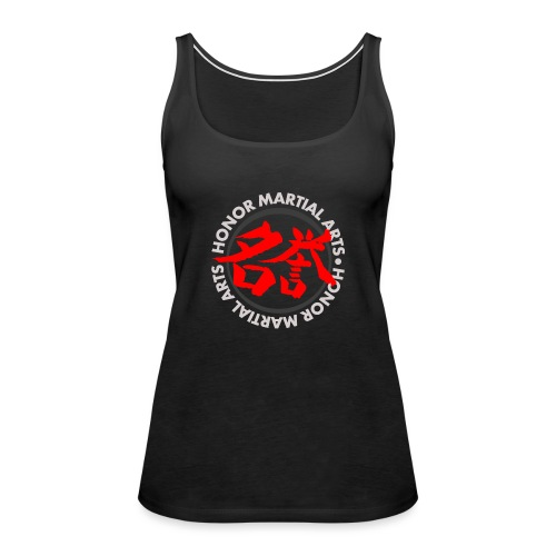 Honor Martial Arts Kanji Design Light Shirts - Women's Premium Tank Top