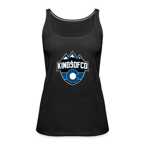 KCO New Logo Clear Background.png - Women's Premium Tank Top