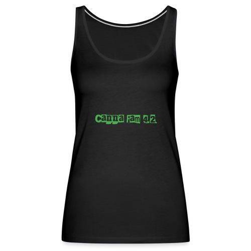 Canna fam 4.2 - Women's Premium Tank Top