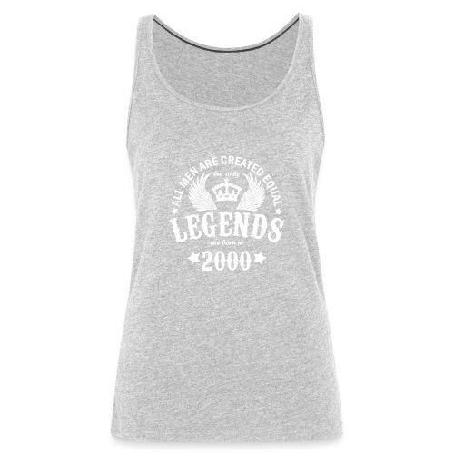 Legends are Born in 2000 - Women's Premium Tank Top