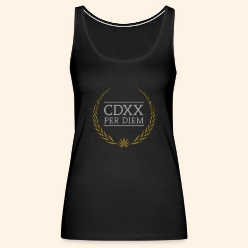 CDXX Per Diem - Women's Premium Tank Top