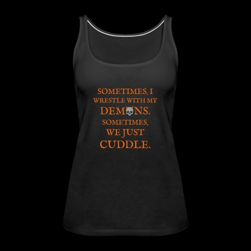 Demon Cuddles - Women's Premium Tank Top