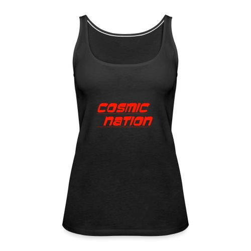 Cosmic Nation Logo - Women's Premium Tank Top