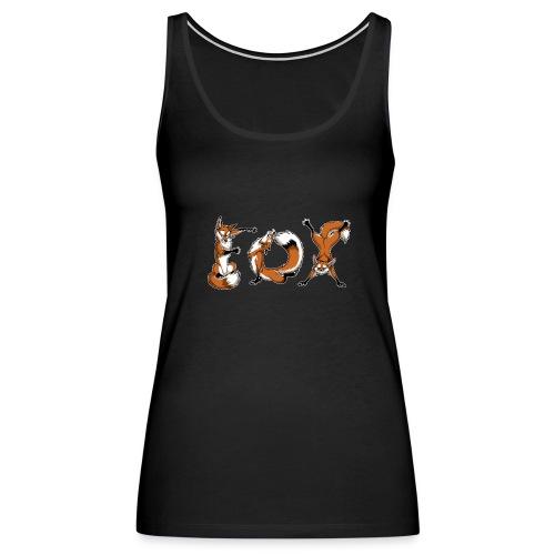 YOGA Foxes - Women's Premium Tank Top