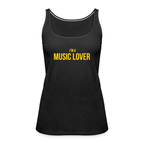Music Lover small - Women's Premium Tank Top