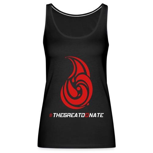 #THEGREATDONATE - Women's Premium Tank Top