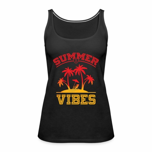 Summer Vibes - Women's Premium Tank Top