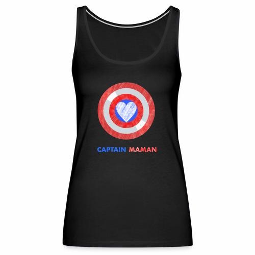 CAPTAIN MAMAN - Women's Premium Tank Top