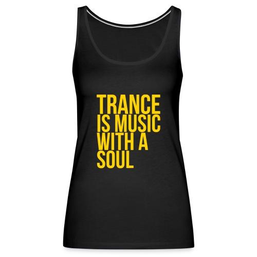 Trance soul - Women's Premium Tank Top
