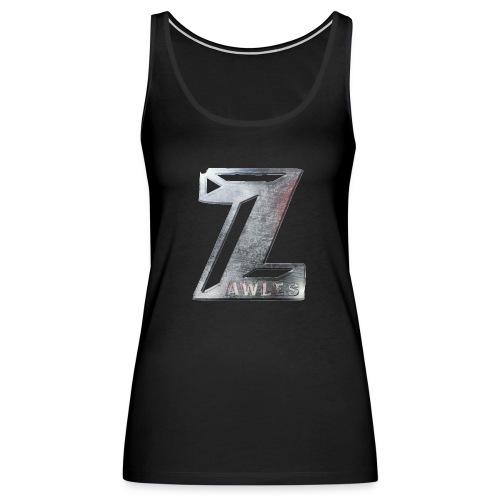 Zawles - metal logo - Women's Premium Tank Top