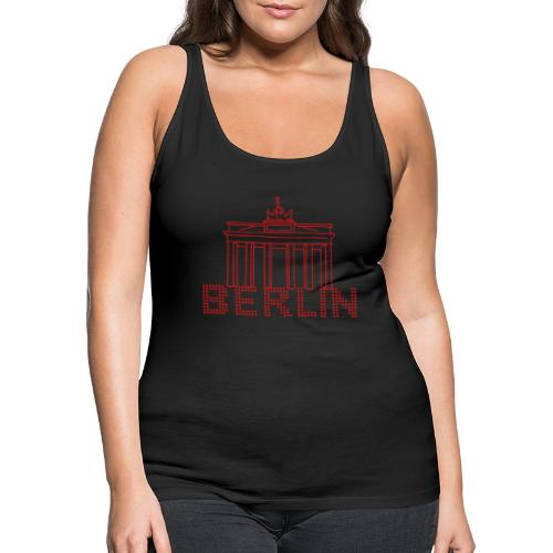 Brandenburg Gate Berlin - Women's Premium Tank Top