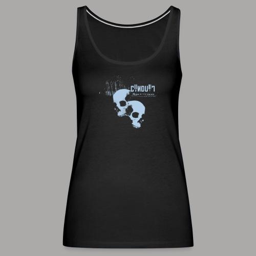 conduit skulls tee 11x10 png - Women's Premium Tank Top