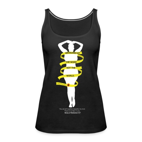 Measured By The Word 2 - Women's Premium Tank Top