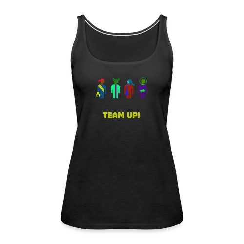 Spaceteam Team Up! - Women's Premium Tank Top