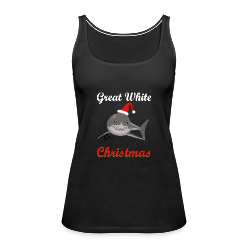 Dreaming of a Great White Christmas - Women's Premium Tank Top