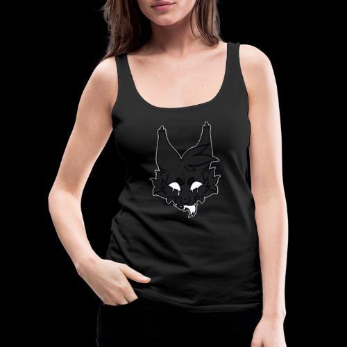 kitty candle-wax - Women's Premium Tank Top