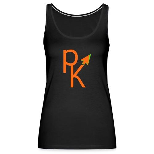 Plusklix Logo - Women's Premium Tank Top